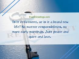 inspirational retirement quotes and messages