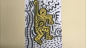 Keith haring for kids art project ...