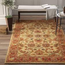 niccolo hand tufted wool red area rug