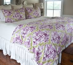 using toile fabric in country french
