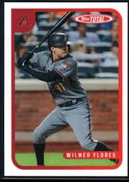 Amazon.com: Baseball MLB 2020 Topps Total #169 Wilmer Flores Giants:  Collectibles & Fine Art