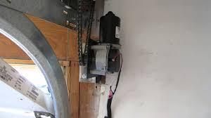 conversion jackshaft garage door
