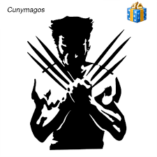 car stickers wolf x men funny wolverine