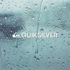 Quiksilver Die Cut White Vinyl Decal Sticker 5 In X 6 In Surfboard Car Window 1 85 Picclick