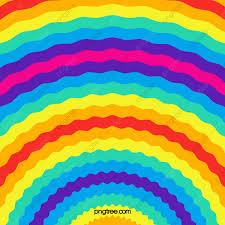 خلفية الطرف موجة قوس قزح زاهى الألوان خلفية قوس قزح تصميم شقة