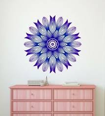Mandala Wall Decal Bohemian Boho Decor Hindu Vinyl Sticker Rp02 Ebay