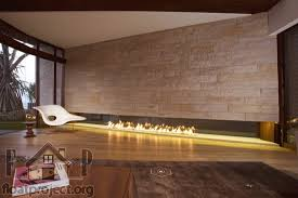 double sided fireplace home designs