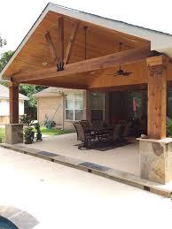 backyard porch patio roof