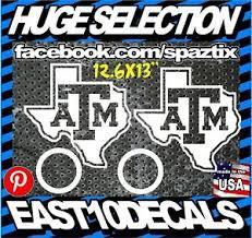 Texas A M Aggies Cornhole Decal 4 Pc Set Sticker Car Decal Package Ebay