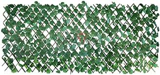Amazon Com Patio Paradise 15 X 48 Faux Ivy Privacy Fence Screen With Expand Retractable Panel Artificial Leaf Vine Hedge Outdoor Decor Garden Backyard Decoration Panels Fence Cover Garden Outdoor