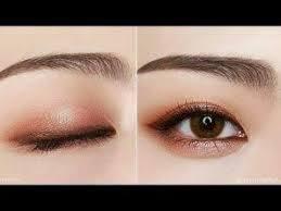 how to makeup eyes korean style