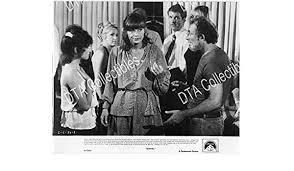 """MOVIE PHOTO: SERIAL-1980-NINA TALBOT-BILL MACY-B&W-8""""x10"""" STILL FN ..."""