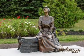 bronze sculpture public commission