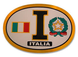 Italian Decals Bumper Stickers Guidogear