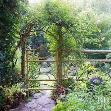 arch trellis ideas better homes gardens