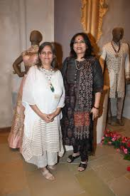 Sulakshana Monga with Abha Singh at The Launch Of New Brand & Designer  Store SOLTEE on 21st July 2018 / Launch Events - Bollywood Photos