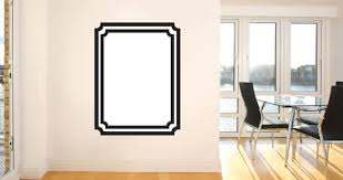 Whiteboard Frame Wall Decals Dezign With A Z