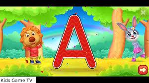 Học Bảng chữ cái ABC| Trò chơi vui nhộn cho bé - Kids Game TV - YouTube