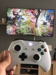 TvOS 13 + Xbox controller and steam link = 1080p high end games on Apple tv  : appletv