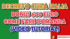 Bonus 600 Euro: ECCO COME FARE LA DOMANDA (tutorial) - YouTube