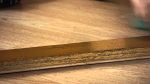 remove old floor wax from wood floors