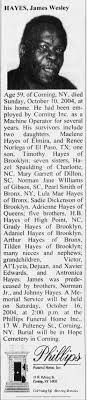 Obituary for James Wesley Hayes (Aged 59) - Newspapers.com