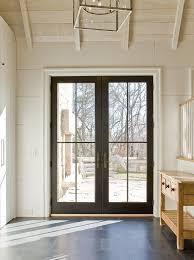 black doors french doors patio