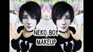 neko boy makeup you