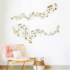 Music Wall Decal Music Wall Sticker Notes Wall Sticker Etsy