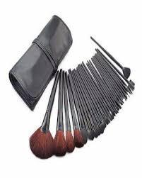 mac 32 piece make up brush set with bag