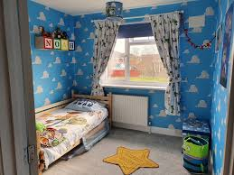 Mum Shows Off Her Son S Amazing Toy Story Bedroom She Handmade With Her Husband Using Bargains From Etsy And Ebay