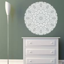 The Aarav Mandala Wall Decal