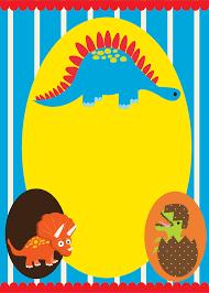 Invitaciones Para Fiesta De Dinosaurios Bebes Para Imprimir Gratis