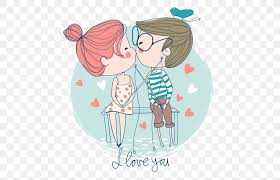 kiss love romance boy png 500x527px