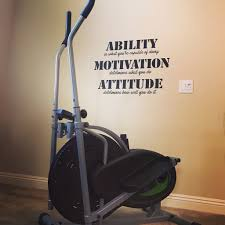 Ability Motivation Attitude Gym Wall Decal Motivational Wall Inspi Word Factory Design