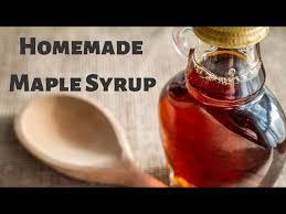 maple syrup pancakes waffles