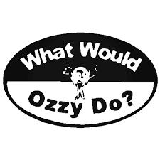 Ozzy Car Decal Sticker