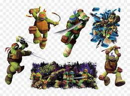 Tmnt Giant Wall Decal By Roomates Tmnt 2012 Sticker Hd Png Download Vhv