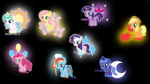 my little pony wallpaper cartoon