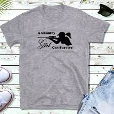 Tops A Country Girl Can Survive Tshirt Poshmark