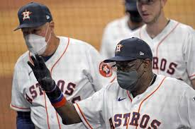 Baker wins debut, Astros top M's in 1st game post sign scam - The ...