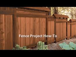 How To Stain A Fence Youtube