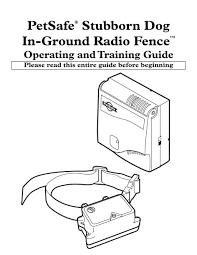 Petsafe Stubborn Dog In Ground Radio Fence Radiofence Com