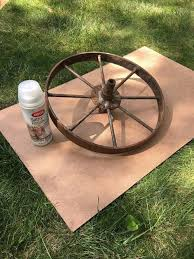 Hang Wagon Wheels From Your Ceiling Hometalk