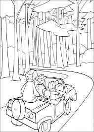 Kleurplaat Disney Kleurplaat Open Season Animaatjes Nl