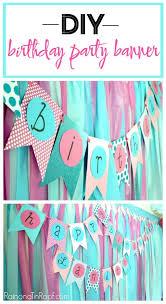 diy birthday banner an easy diy banner