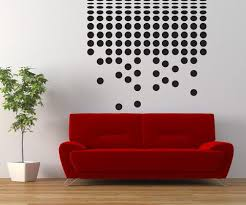 Vinyl Wall Decal Sticker Polka Dot Waterfall Os Dc777 Stickerbrand