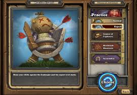 Practice mode - Hearthstone Wiki