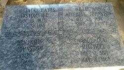 Benjamin James Johnston (1861-1868) - Find A Grave Memorial