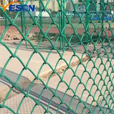 China 2019 Good Quality Chain Link Fence Rolls Pvc Chain Link Fence Yeson Factory And Manufacturers Yeson